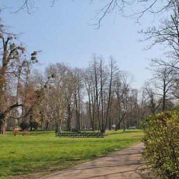 Park w Strzelcach Opolskich