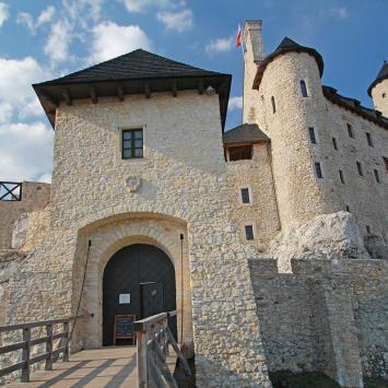 Zamek Bobolice - zdjęcie