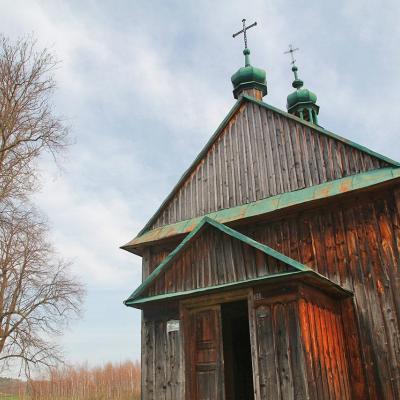 Drewniana cerkiew w Krasicach