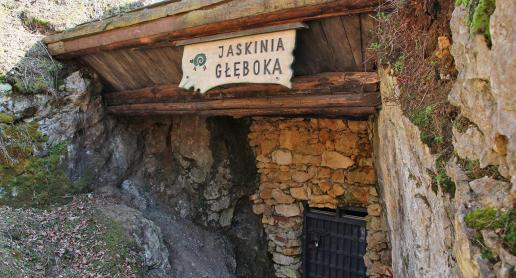 Jaskinia Głęboka na Jurze - zdjęcie