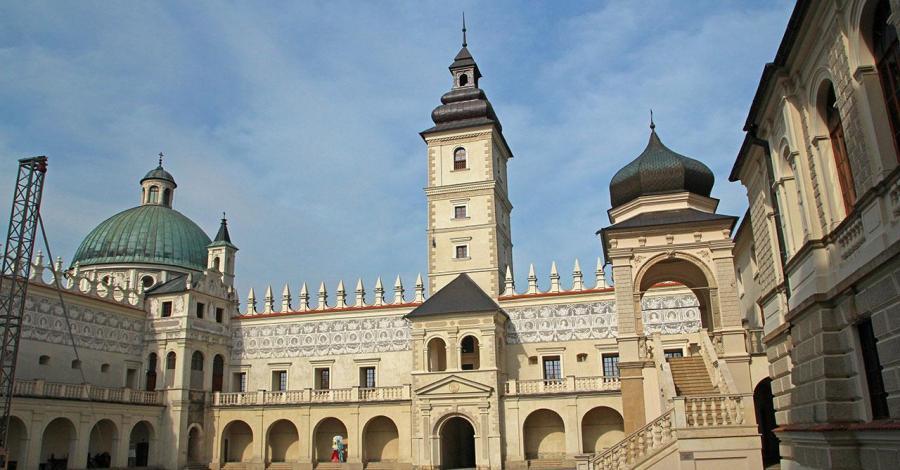 Zamek w Krasiczynie - zdjęcie
