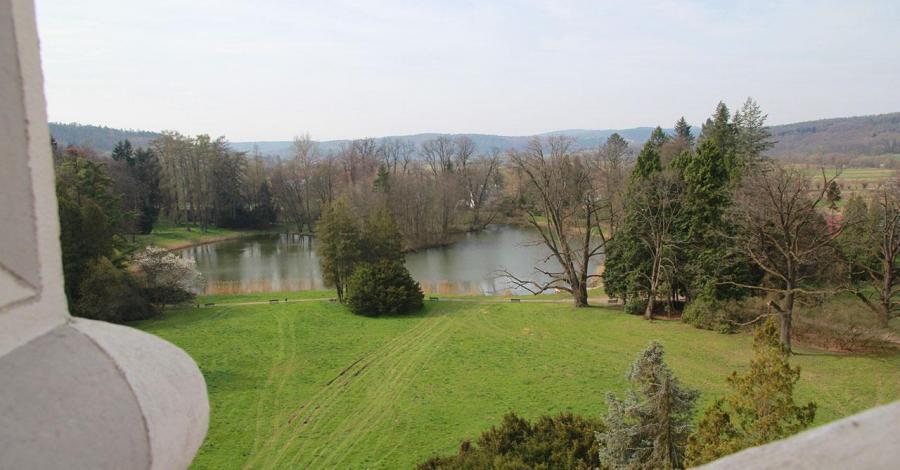 Park zamkowy w Krasiczynie - zdjęcie