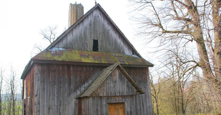 Drewniana cerkiew w Babicach - zdjęcie
