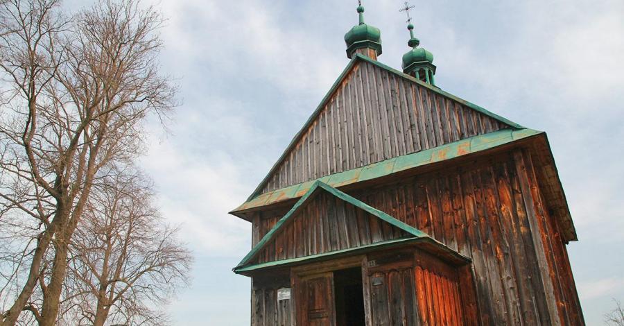 Drewniana cerkiew w Krasicach - zdjęcie