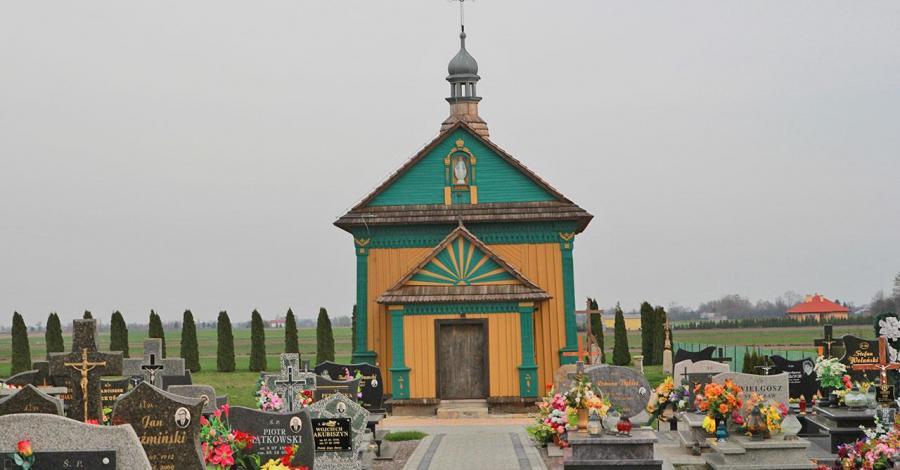 Drewniana cerkiew w Zadąbrowiu - zdjęcie