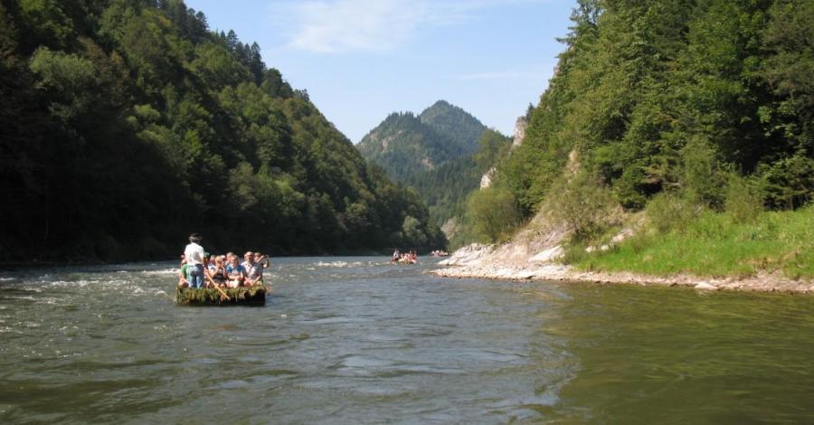 Spływ Dunajcem - zdjęcie
