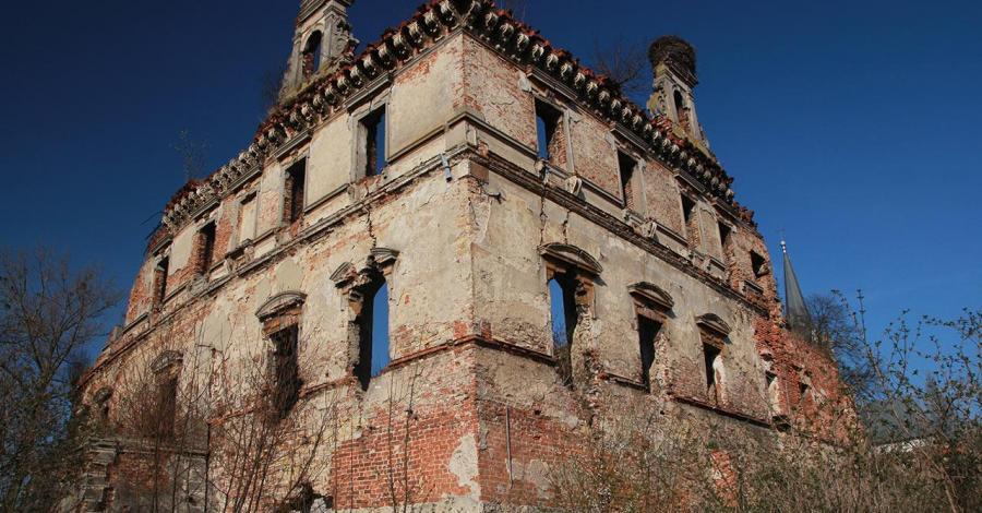 Zamek biskupów w Ujeździe - zdjęcie