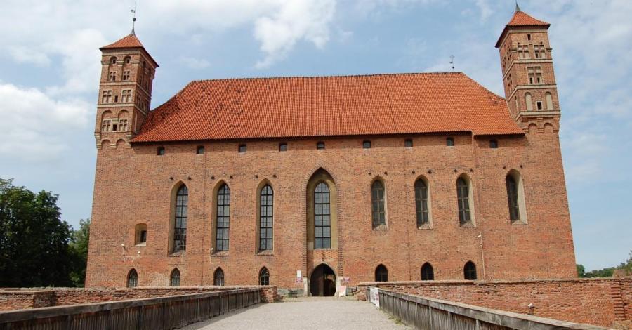 Zamek w Lidzbarku Warmińskim - zdjęcie
