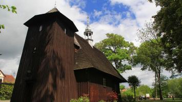 Drewniane kościoły wokół Wielunia - zdjęcie