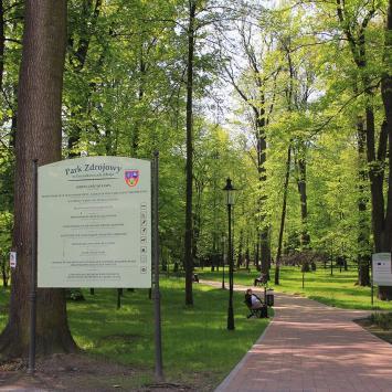 Park Zdrojowy w Goczałkowicach Zdroju