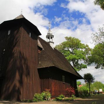 Drewniany kościół w Gaszynie
