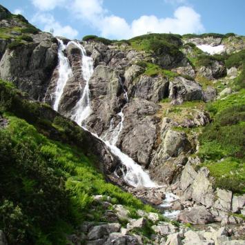 Siklawa w Tatrach - zdjęcie