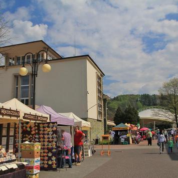 Rynek w Wiśle - zdjęcie