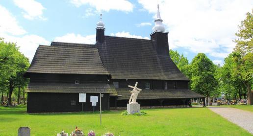 Najpiękniejszy drewniany kościół w Polsce - zdjęcie