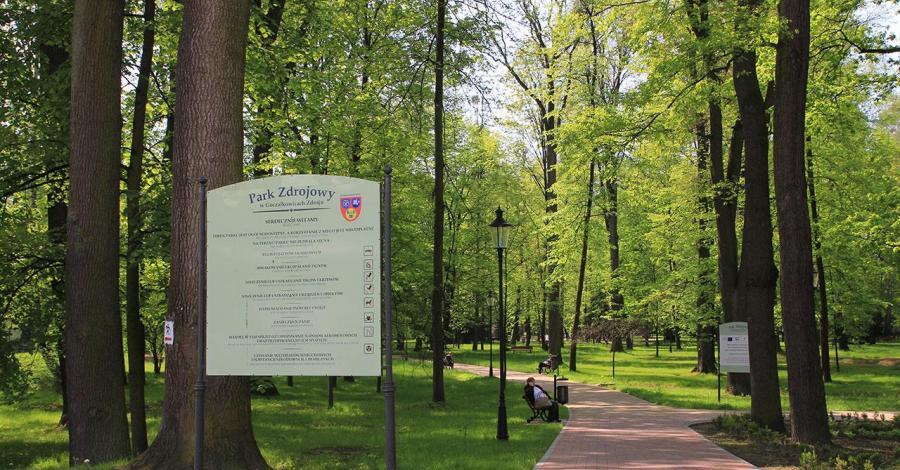 Park Zdrojowy w Goczałkowicach Zdroju - zdjęcie