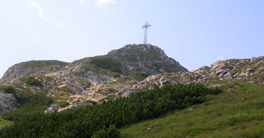 Krzyż na Giewoncie - zdjęcie