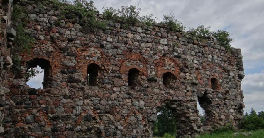Zamek w Papowie Biskupim - zdjęcie