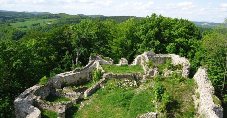 Zamek we Wleniu - zdjęcie