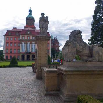 Zamek Książ - Tarasy