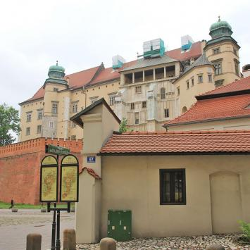 Zamek na Wawelu z Grodzkiej, Anna Piernikarczyk
