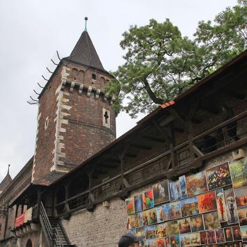 Mury obronne w Krakowie