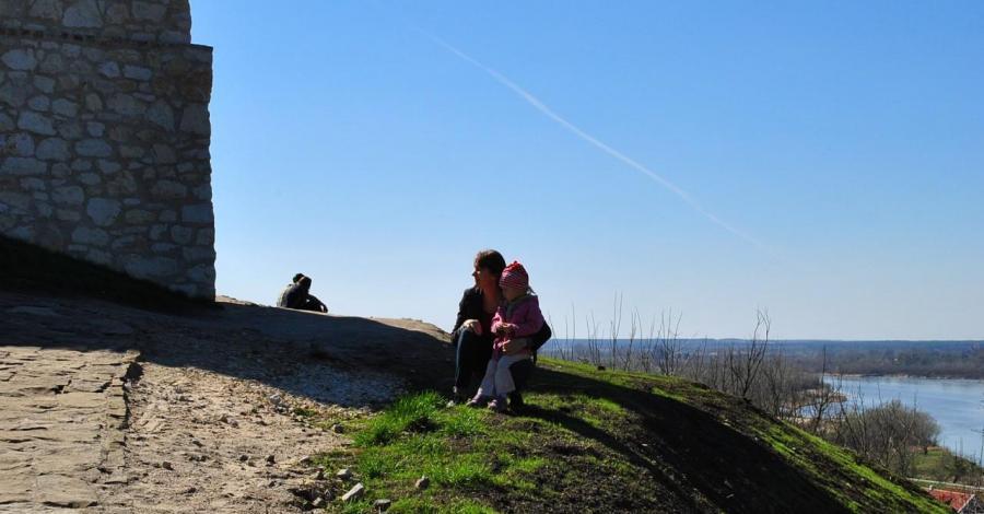 Wiosenny spacer nad Wisłą - zdjęcie