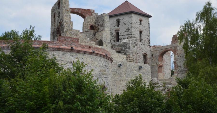 Gliniak w Bolęcinie i Zamek Tenczyn w Rudnie - zdjęcie