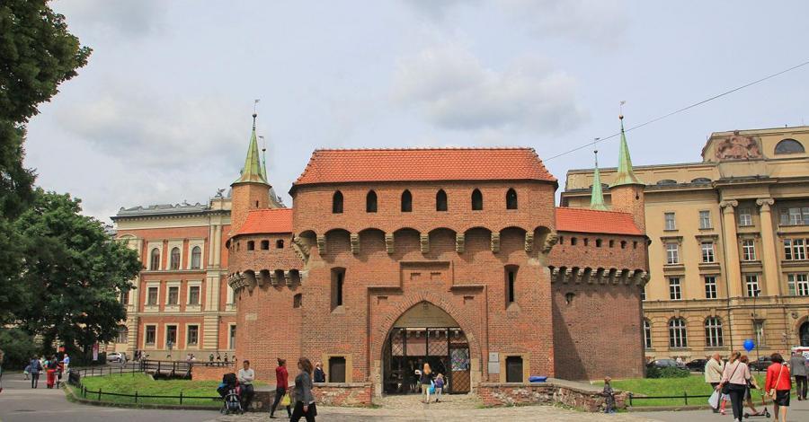 Barbakan w Krakowie - zdjęcie