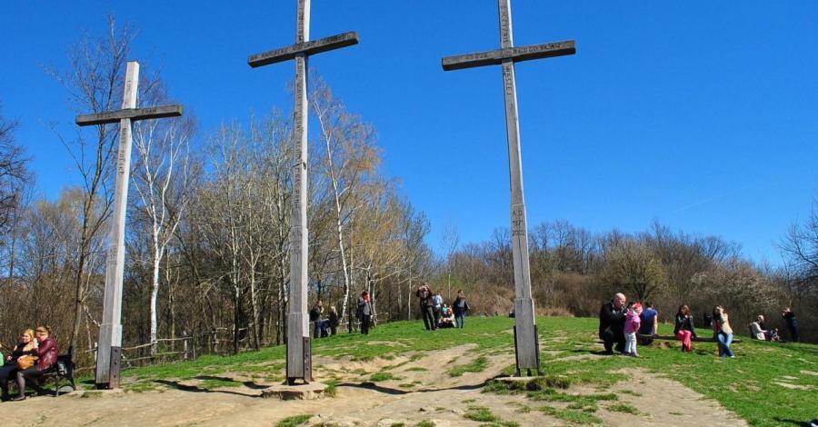 Góra Trzech Krzyży w Kazimierzu Dolnym - zdjęcie