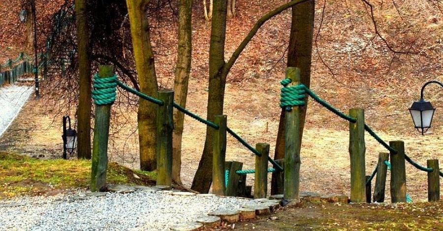 Park Piszczele w Sandomierzu - zdjęcie