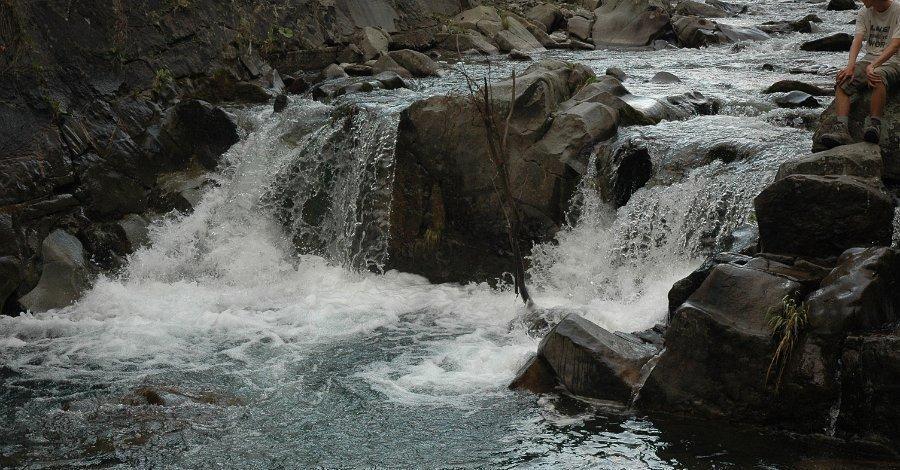 Wodospad Spad w Gorcach - zdjęcie