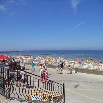 plaża w Kołobrzegu, Danusia