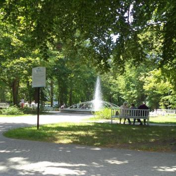 park miejski, Danusia