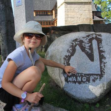 Pieczątka przy kościółku Wanf, Anna Piernikarczyk