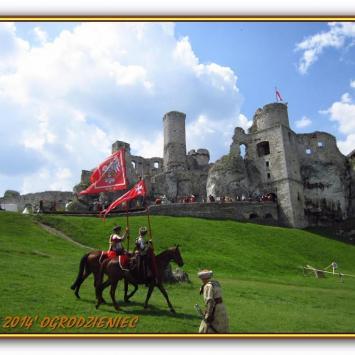 Ogniem i Mieczem na zamku Ogrodzieniec