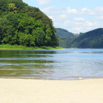 Jezioro Rożnowskie - Gródek nad Dunajcem