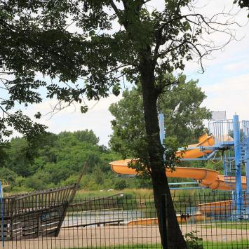Park Gdański i kąpielisko Kormoran w Legnicy