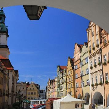 Rynek w Jeleniej Górze - zdjęcie