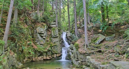 Wodospad Pogórnej - zdjęcie