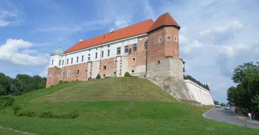Sandomierz - zabytki i Wisła - zdjęcie