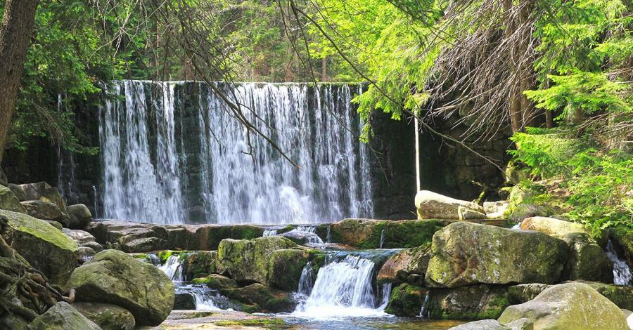 Dziki Wodospad w Karpaczu - zdjęcie