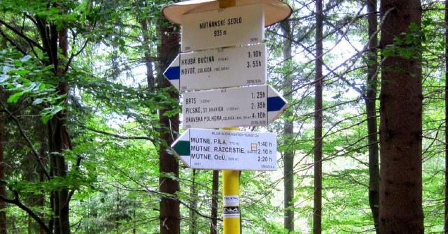 Przełęcz Bory Orawskie - zdjęcie