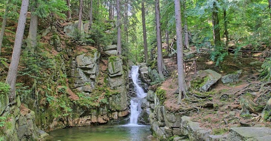 Wodospad Podgórnej - zdjęcie