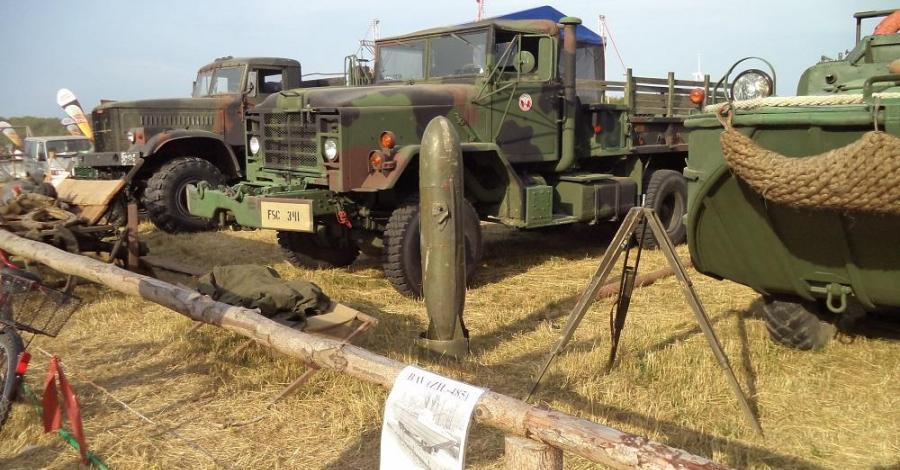 Zlot Pojazdów Wojskowych w Darłowie - zdjęcie