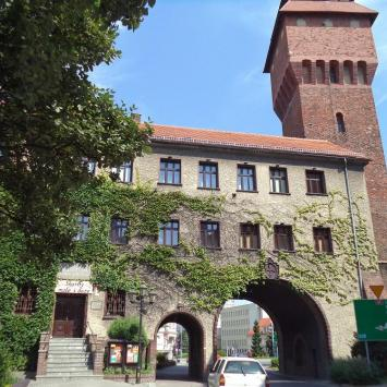 Brama Krakowska w Kluczborku