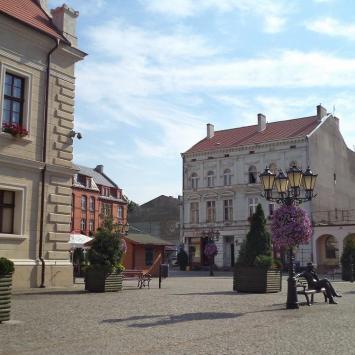 Rynek w Świebodzinie - zdjęcie