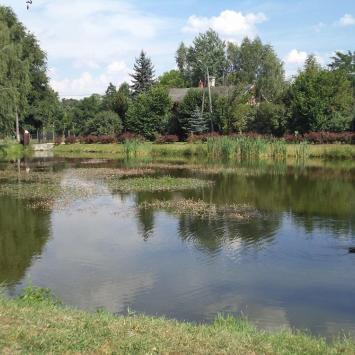 Park miejski w Kluczborku