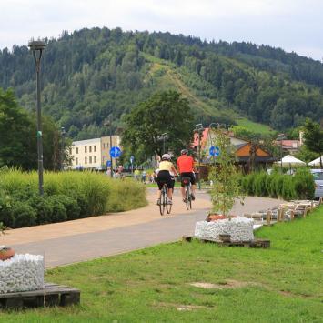 Szczyrk ścieżka rowerowa, Anna Piernikarczyk