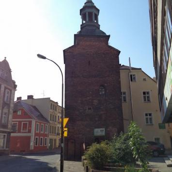 Wieża Łaziebna w Zielonej Górze