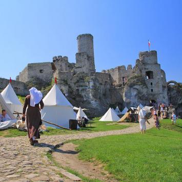 Zamek Ogrodzieniec - zdjęcie